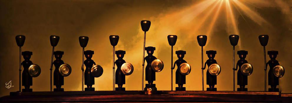 Hanukkiah by Music of the Heart