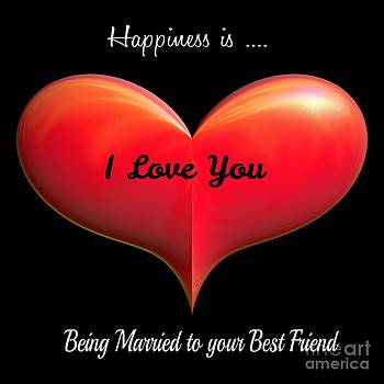 Gail Matthews - Happiness is... being Married to your Best Friend