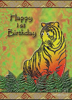 Jeanette K - Happy 1st Birthday Tiger