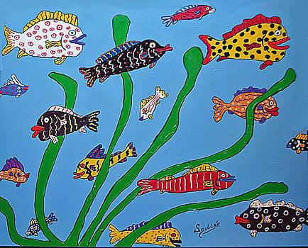Happy Aquarium by Charles Spillar