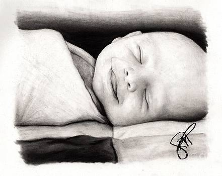 Happy Baby by Rosalinda Markle