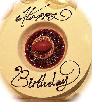 Venetia Featherstone-Witty - Happy Birthday Dessert