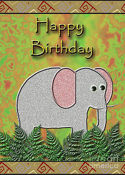 Jeanette K - Happy Birthday Elephant