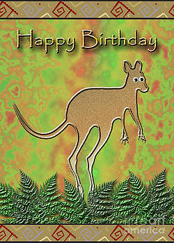 Jeanette K - Happy Birthday Kangaroo
