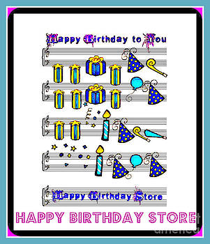 Happy Birthday Store sign by Thomas Smith