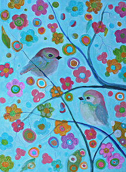Happy Blossoms by Alma Yamazaki