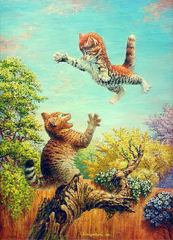 Happy Childhood by Irina Sumanenkova