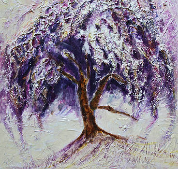 Happy Dance of the Weeping Tree by Christiane Kingsley