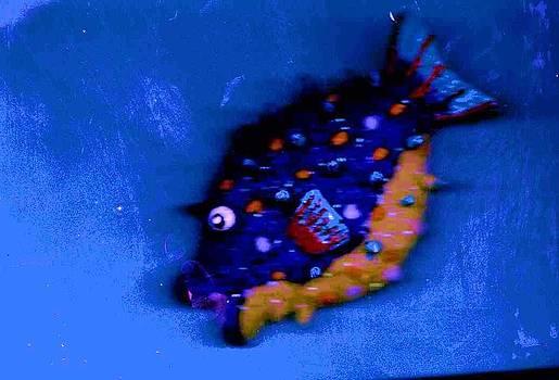 Anne-Elizabeth Whiteway - Happy Diving Fishy
