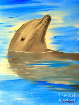 Happy Dolphin by John Morris