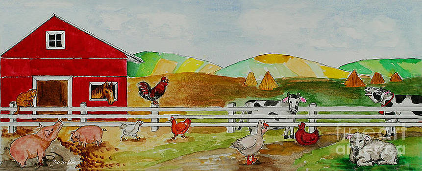 Happy Farm by Janis Lee Colon