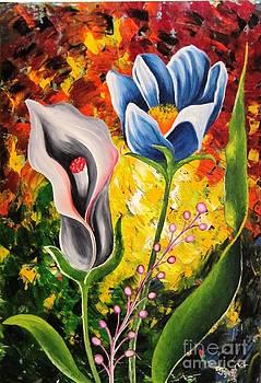 Happy Flowers by Aparna Warade