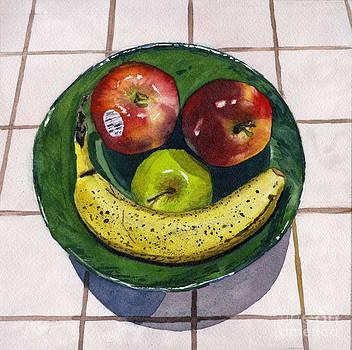 Happy Fruit by Hollis Machala