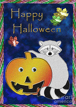 Jeanette K - Happy Halloween Raccoon