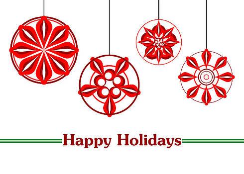Happy Holidays - Ornaments by Joel Dynn Ingel Rabina