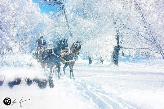 Happy Holidays by Jamie Mammano