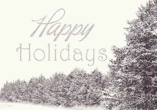 Happy Holidays by Pam  Holdsworth