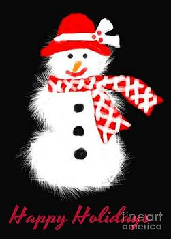 Gail Matthews - Happy Holidays Snowman