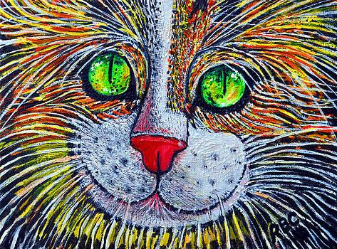 Happy Kitty by Bob Crawford