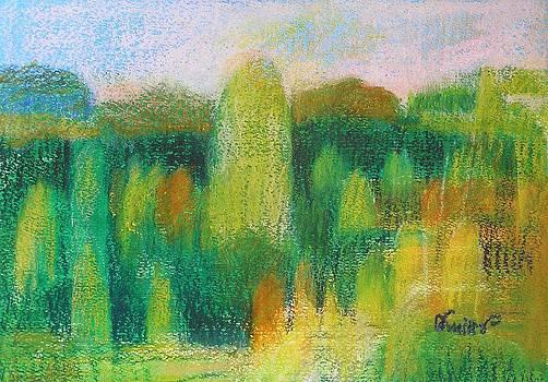 Happy Landscape by Alicja Coe