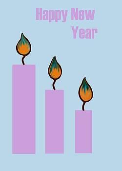 Usha Shantharam - Happy New Year Candles