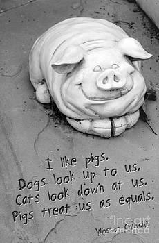 Happy Pig by Karen Derrico