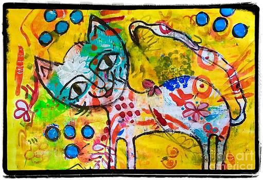 Happy pussycat by Corina  Stupu Thomas