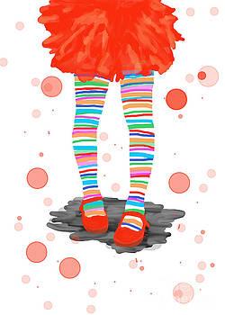 Happy stripes by Joanna Cieslinska