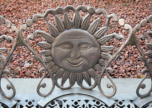 Happy Sun Bench by John Cardamone