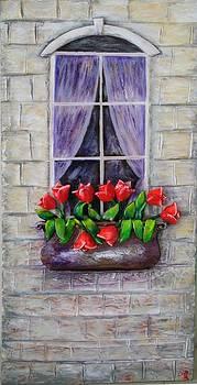 Happy Window by Raya Finkelson