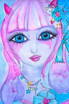 Harajuku Girl by Marley Art