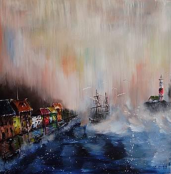 Harbor by Danas Zymonas