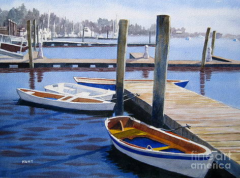 Harbor Denizens by Shirley Braithwaite Hunt