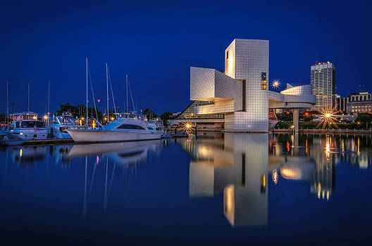 Harbor in Blue by At Lands End Photography