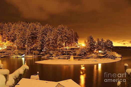 Harbor by Ken  Rosholt