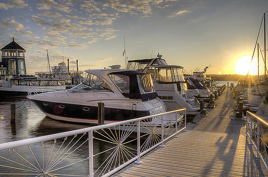 Harbor Sunrise by Michael Donahue