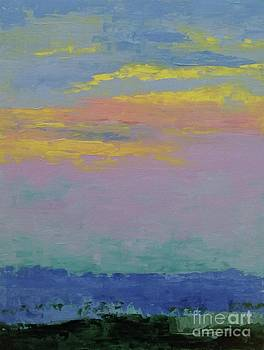 Harbor Sunset by Gail Kent