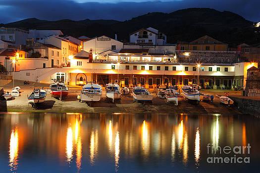 Gaspar Avila - Harbour at twilight