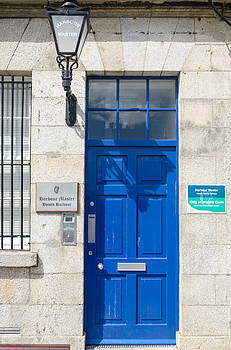 Harbour Master's door by Paul Indigo