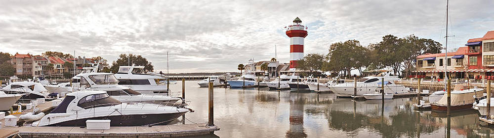 Harbourtown panorama by Bill LITTELL