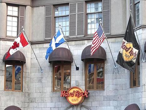 Veronica Vandenburg - Hard Rock Cafe Montreal