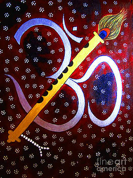 HARI OM- Whimsical painting by Priyanka Rastogi