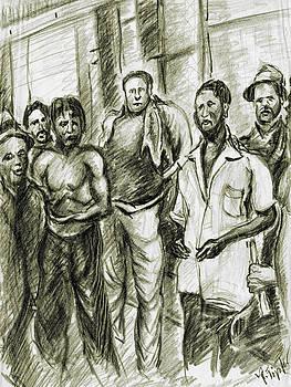 Art America Gallery Peter Potter - Harlem Guys - New York Art