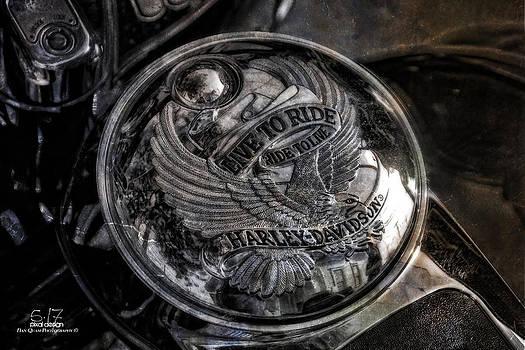 Harley Badge by Dan Quam
