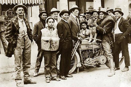 California Views Mr Pat Hathaway Archives - Harley - Davidson Motorcycle California circa 1920