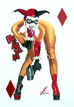 Harley Quinn by Andre Ajibade