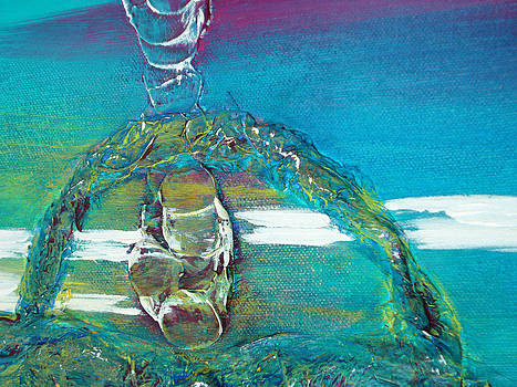Harmony Abstract 3015-4 by Susan Harris