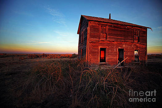 Harney County Oregon Homestead by Michele AnneLouise Cohen