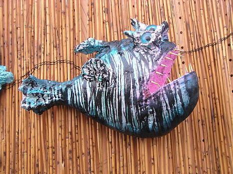 Harold the Hatchet fish by Dan Townsend