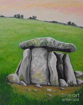 Haroldstown Dolmen  by Caroline Cunningham